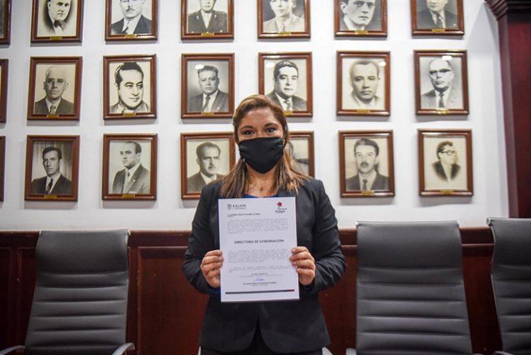 Rinde protesta Directora de Gobernación del Ayuntamiento de Xalapa