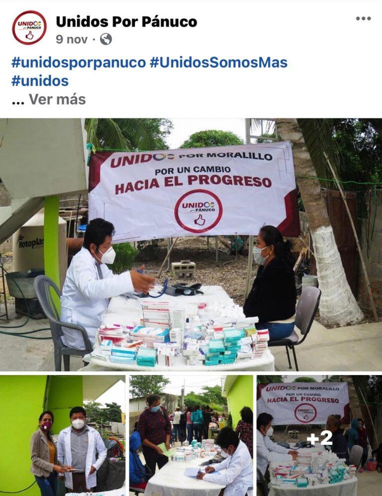 Siguen los desvíos de recursos públicos de Pueblo Viejo para campañas políticas en Pánuco