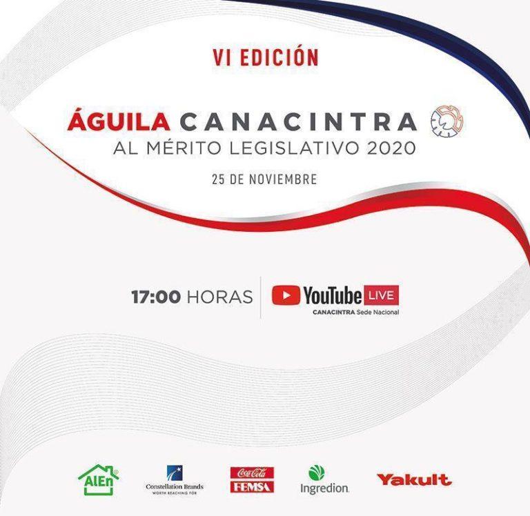 Canacintra reconoce labor legislativa de Dante, Julen, Héctor Yunes y Ricardo Exsome