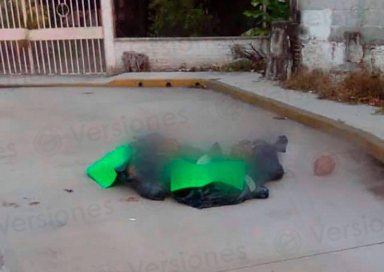 Encuentran bolsas con restos humanos desmembrados en Paso de Ovejas