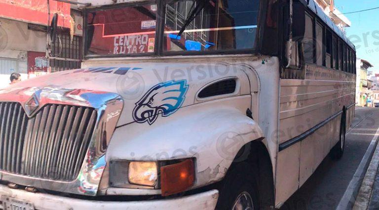 Servicio de transporte urbano continua en crisis en Xalapa