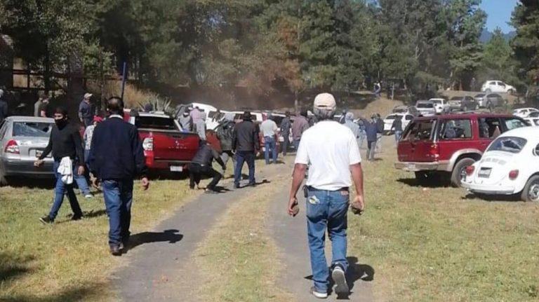 Al menos 15 heridos por enfrentamiento entre grupos de la CNTE en Paracho