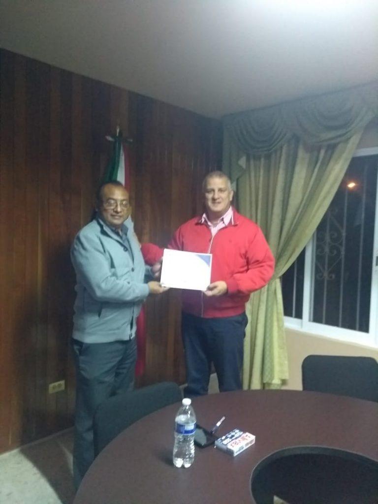 Mario Rebollar, coordinador de PODEMOS en el distrito X con sede en Xalapa